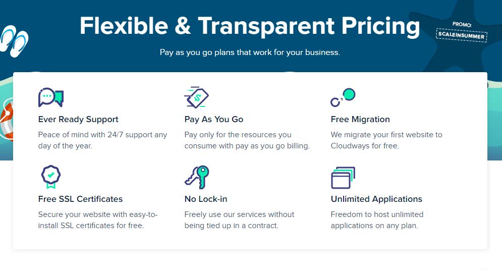 Flexible & Transparent Pricing Web Hosting