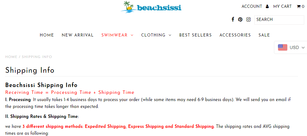 15% Off Beachsissi Coupons, Promo Codes 2020