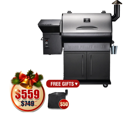 $80 for Z Grills-700E 8 in 1 Wood Pellet Grill