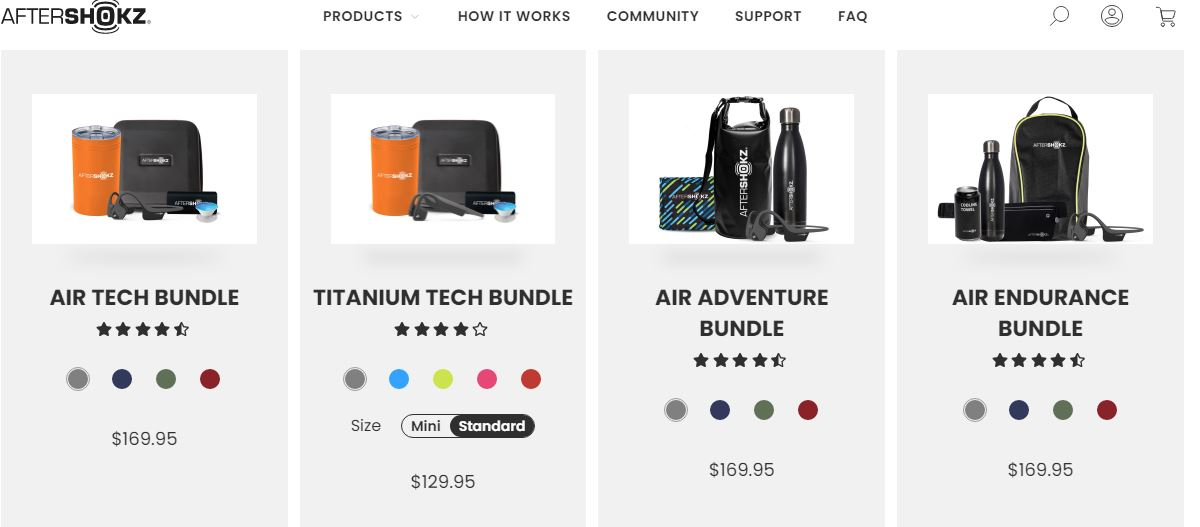 AfterShokz Coupons $50 Off On New Bundles