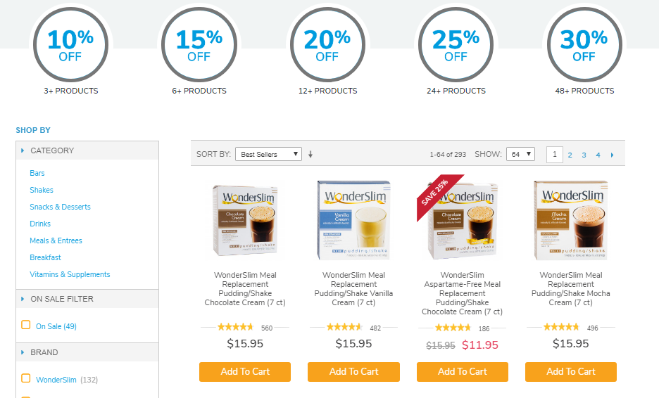 Diet Direct Coupons Buy 3 items & Get 10% Off