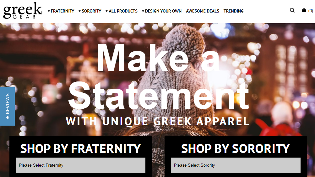 Greek Gear Coupons 15% Off All Products