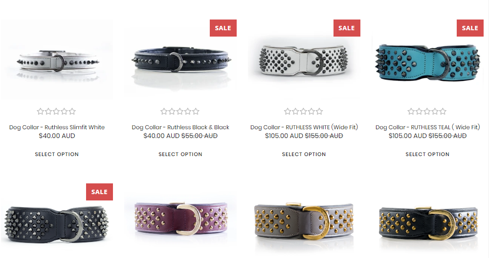 Rogue Royalty Offers Heavy Duty Dog Collars