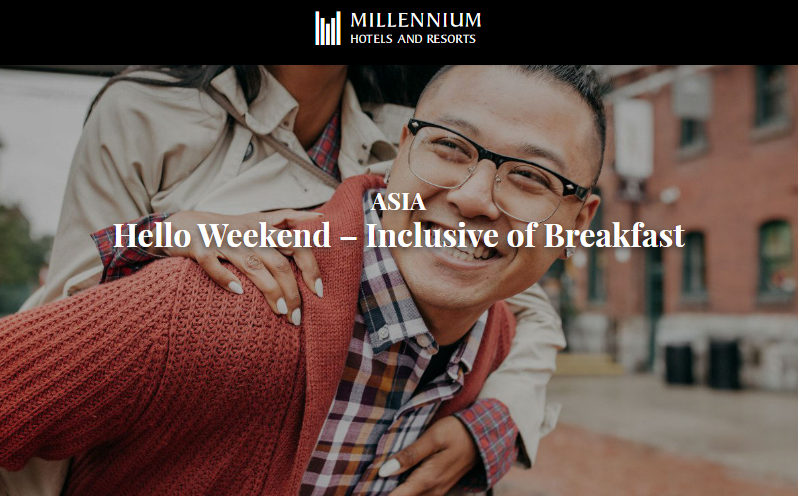 Millennium Hotels Complimentary Breakfast In Asia