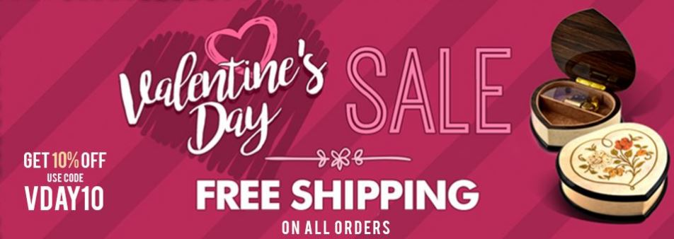Music Box Attic Valentines Day Sale