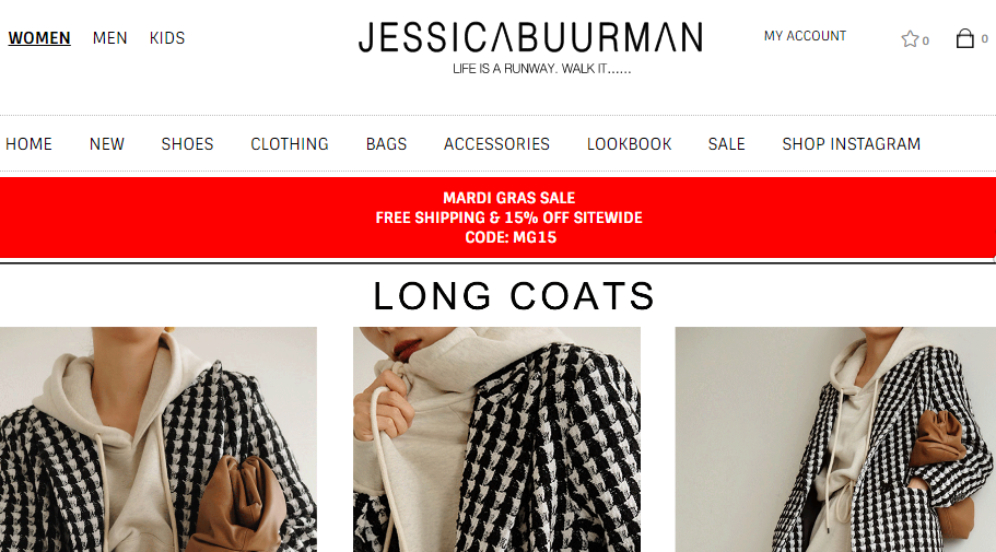 Jessica Buurman Coupons