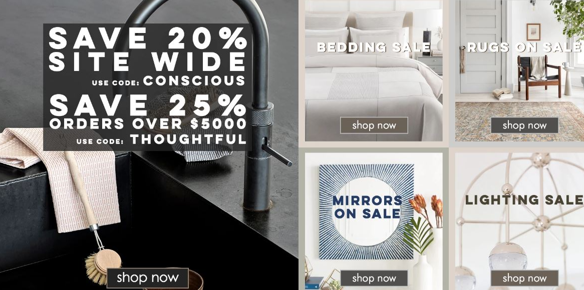 BurkeDecor Coupons Sitewide