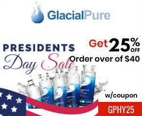 Glacial Pure Filters President Day Sale