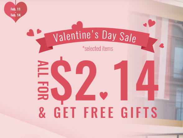Zaful Coupons For Valentines-Day-Sale