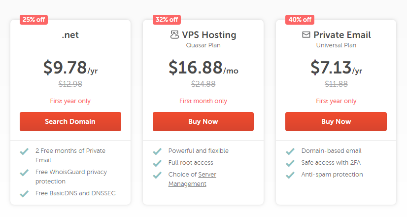 32% Off NameCheap VPS Hosting Coupons
