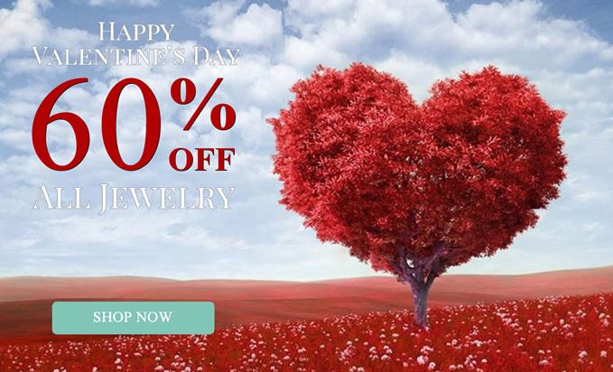 60% Off Silver Rush Style Valentines Day Sale