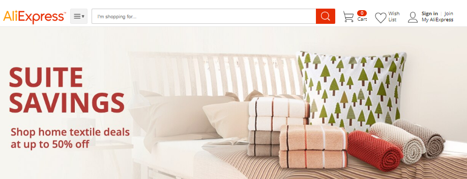 AliExpress home products coupons