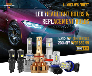 Auxbeam Coupons 20% Off Top LED Headlight Bulbs