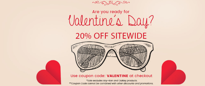Gaffos.Com Coupons on Valentines Day