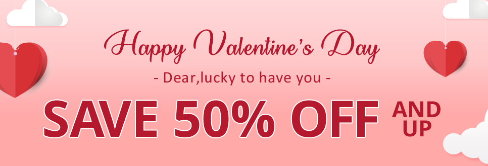 LovelyWholesale Valentine Day Sale