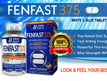 Intechra Health FENFAST 375 Bottle