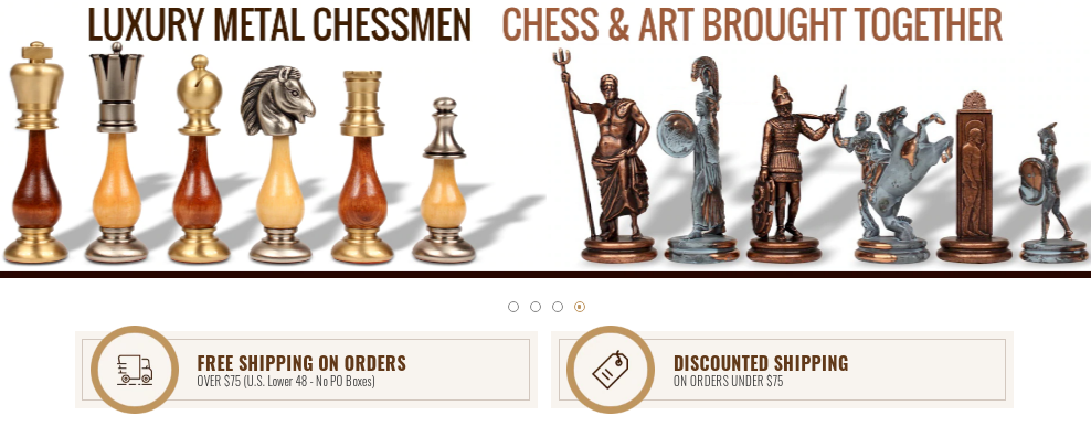The Chess Store Coupons Extra 10% Off