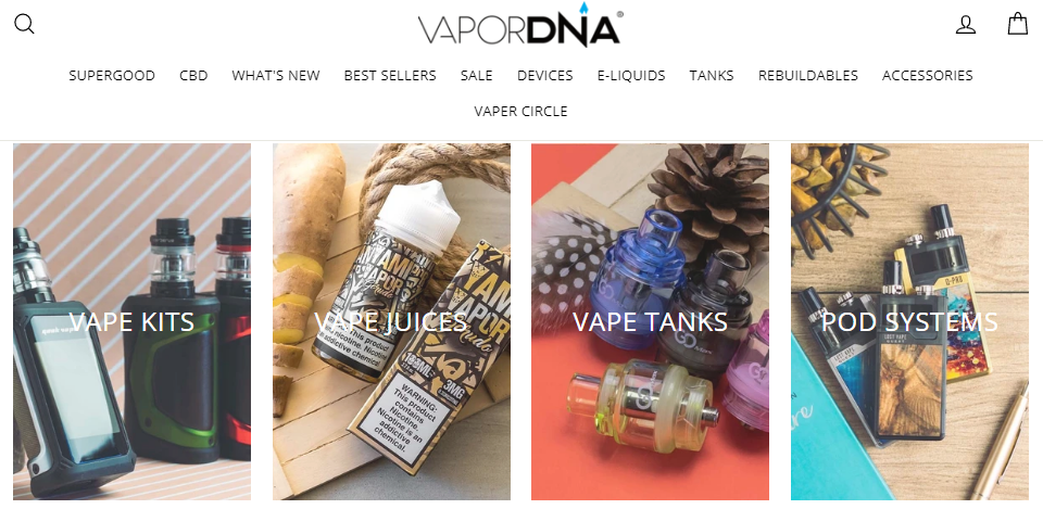 VaporDNA Coupons 10% Off Sitewide 2020