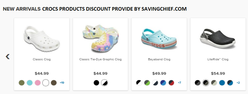 Crocs Coupons And Promo Codes