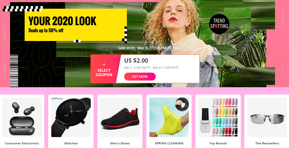 AliExpress Coupons Most Trending Items