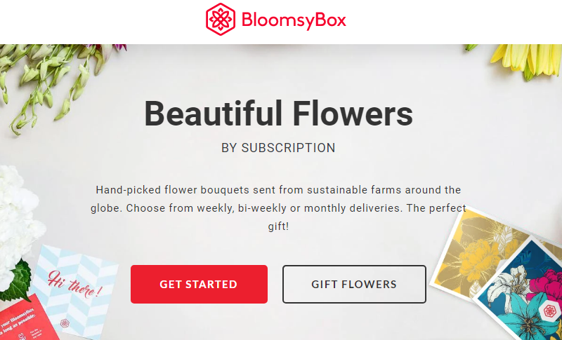 BloomsyBox Coupon Womens Day Sale