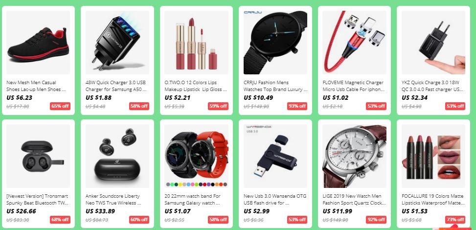 AliExpress Coupon Popular Items