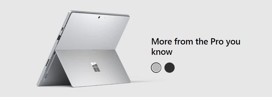 Microsoft Surface Pro 7 $200 Off
