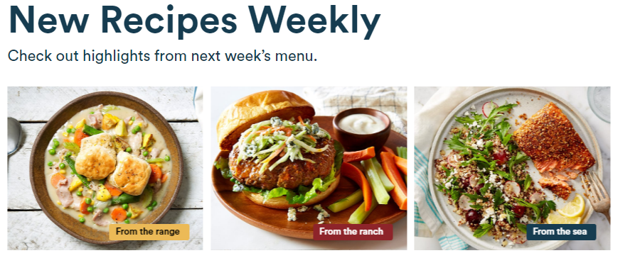 Gobble.com new recipes weekly