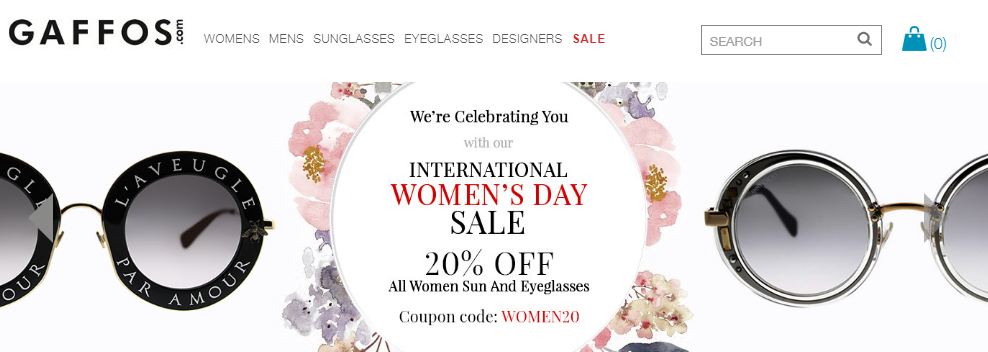 Gaffos.Com Coupons Women Day