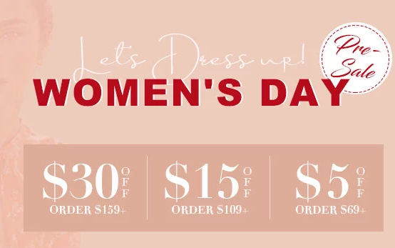 JustFashionNow Coupons Womens Day
