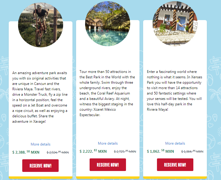 Experiencias Xcaret Coupons Easter Sale
