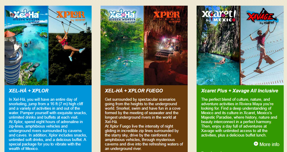 Experiencias Xcaret Coupons Best Adventures