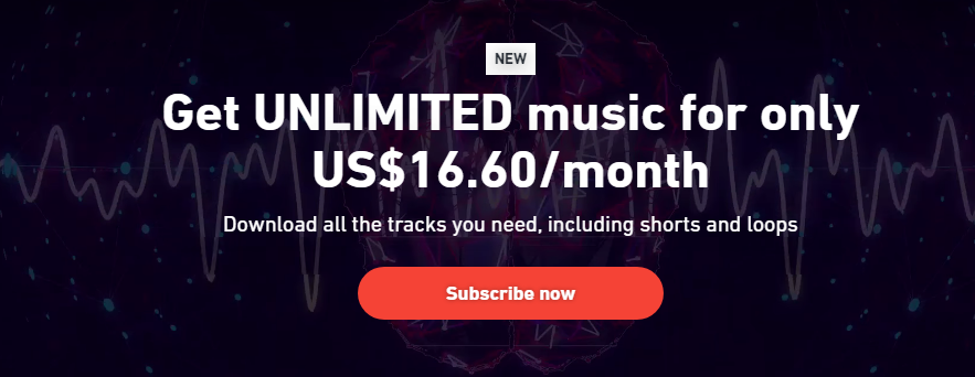 Shutterstock Unlimited Music Plan