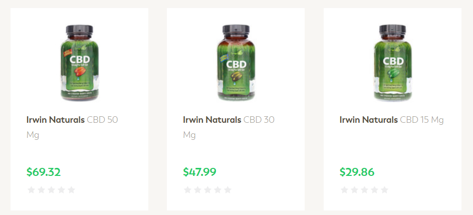 NHC Vitamins CBD Products Discount