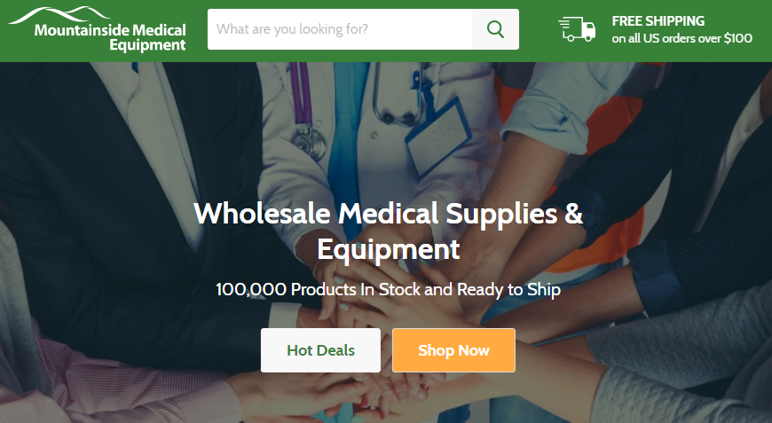 Mountainside Medical Equipment Free Shipping