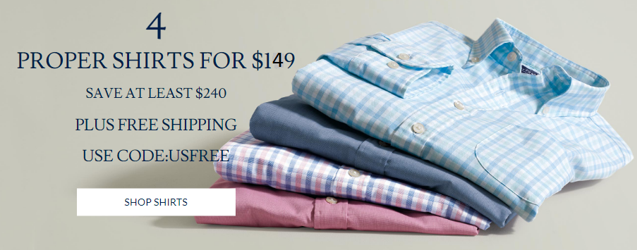 Charles Tyrwhitt Coupon 4 For 149