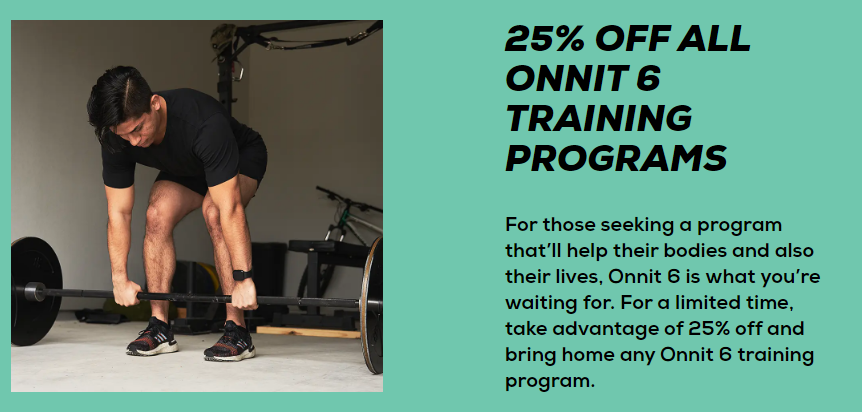 Onnit 6 Program coupon code