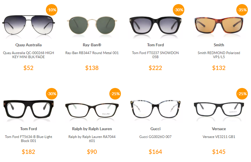SmartBuyGlasses 50 Off First Order