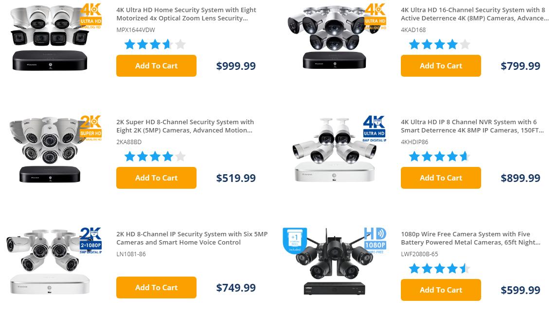 Lorex New Smart Home Cameras for sale