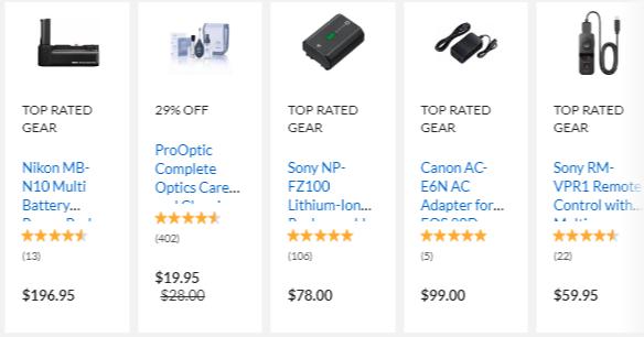 Adorama Camera Accessories Deals
