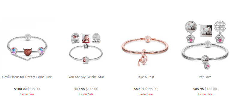Gnoce.com Bracelets Sale