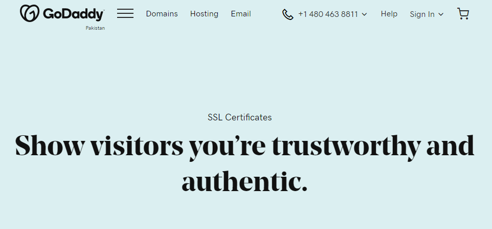 GoDaddy SSL Certificates Coupon