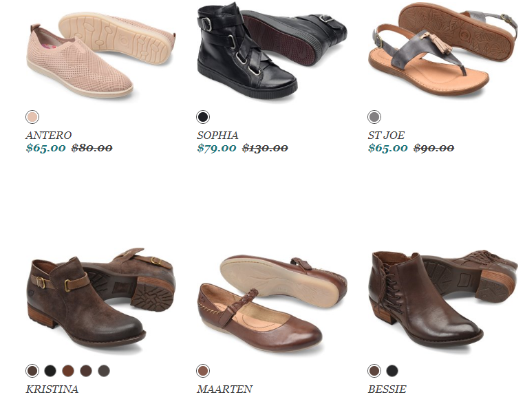Born Shoes Sale items Coupon