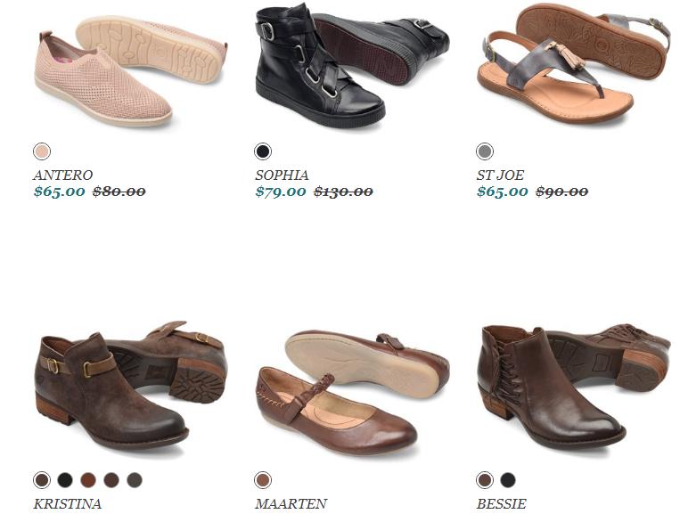 Born Shoes Sale items Coupon