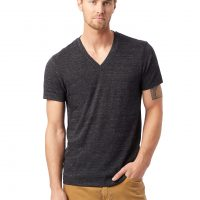 Boss V-Neck Eco-Jersey T-Shirt by Alternative Apparel
