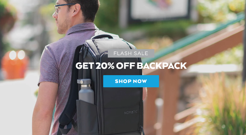 nomatic backpack discount