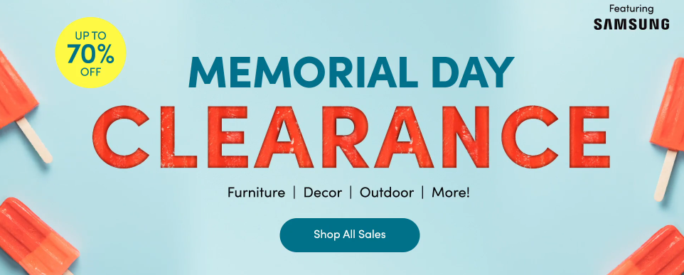 Wayfair Memorial Day
