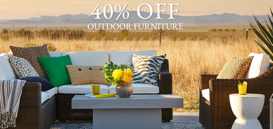 Pier 1 outdoor furniture sale