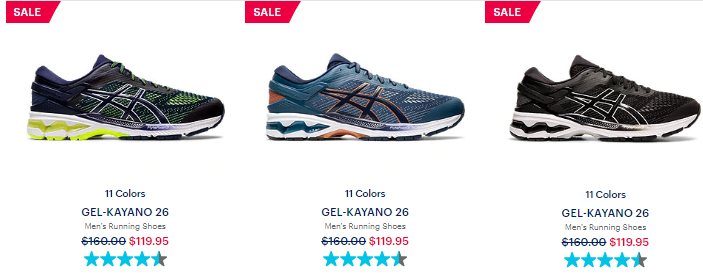 asics clearance sale 2020