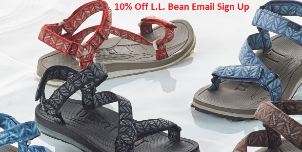 l l bean email sign up discount